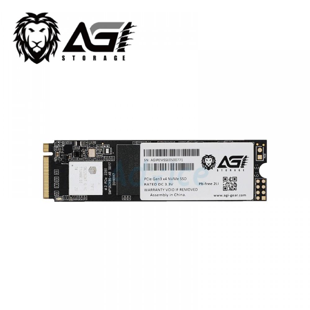 AGI 亞奇雷 512GB M.2 PCIE SSD 固態硬碟